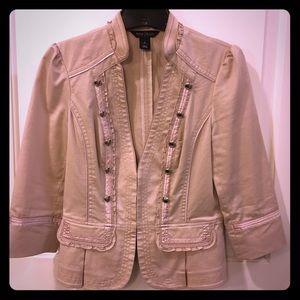 White House Black Market 3/4 sleeve jacket